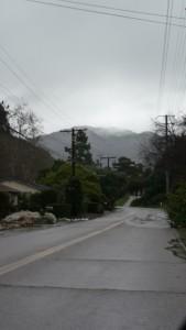 Rainy Day in Santa Barbara
