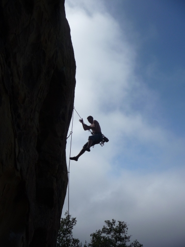 Falling at Fire Crags - Who gets a shot like this?